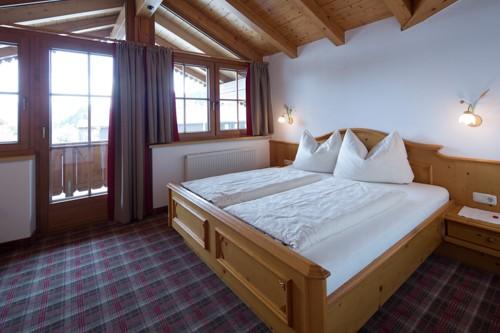 Ferienwohnung Going am Wilden Kaiser Schlafzimmer